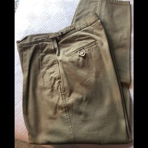 Polo Ralph Lauren Khaki Pant Adjustable Waist 36